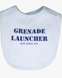 gun_girls_inc_baby_white_grenade_launcher_baby_bib