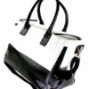 fashionable_black_white_concealed_carry_tote_handbag_with_custom_holster_08