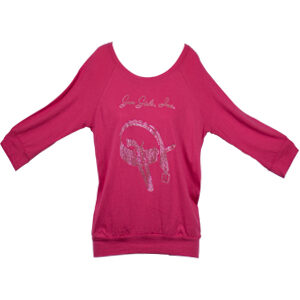 gun_girls_inc_pink_dolman_blouson_swarvoski_crystal_top